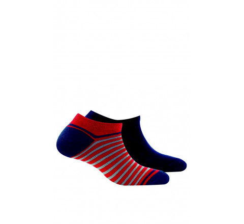 Pack de 2 paires d'invisibles pur coton