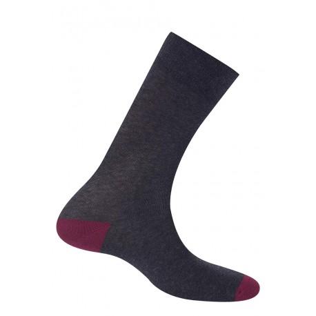 Mi-chaussettes de couleurs contrastées