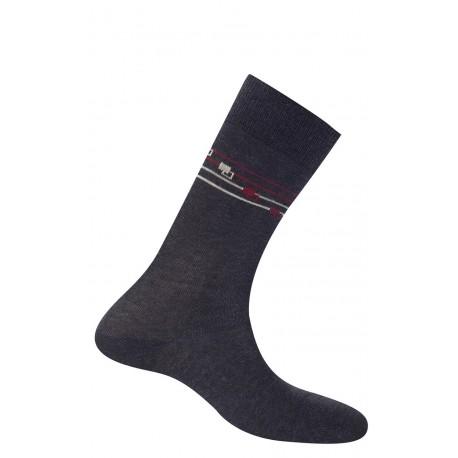 Mi-chaussettes bracelet en coton