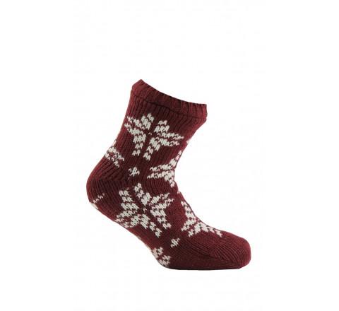 Chaussettes tricot cocooning intérieur polaire