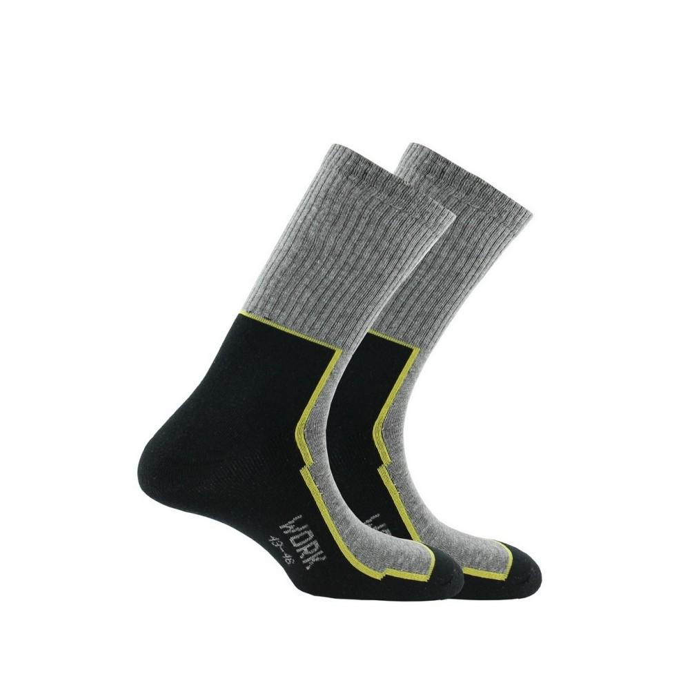kindy mixte 2 paires de chaussettes de travail pour chaussures de s curit en coton. Black Bedroom Furniture Sets. Home Design Ideas