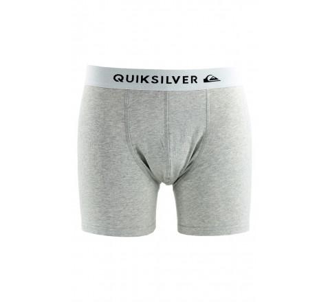 Boxer Edition Quiksilver gris en coton