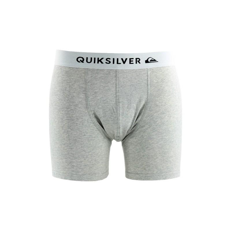 Sous-vêtements Quiksilver gris Homme   Boxer Edition Quiksilver en coton c78719c44a5