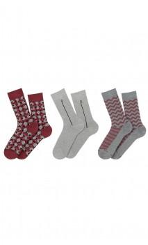 Coffret cadeau 3 paires de chaussettes So British