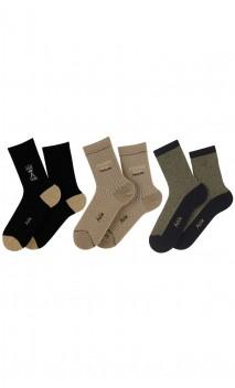 Coffret cadeau Femme 3 paires de chaussettes Maison Achile