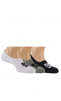 Lot de 3 paires d'ultra-invisibles Sport en coton