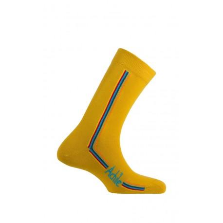 Mi-chaussettes Straight en coton