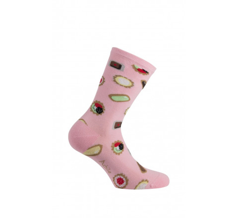 Mi-chaussettes motif petites Mignardises