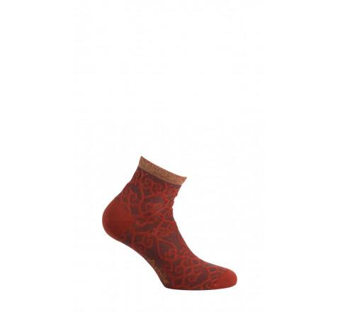 Chaussettes courtes Illusion en coton
