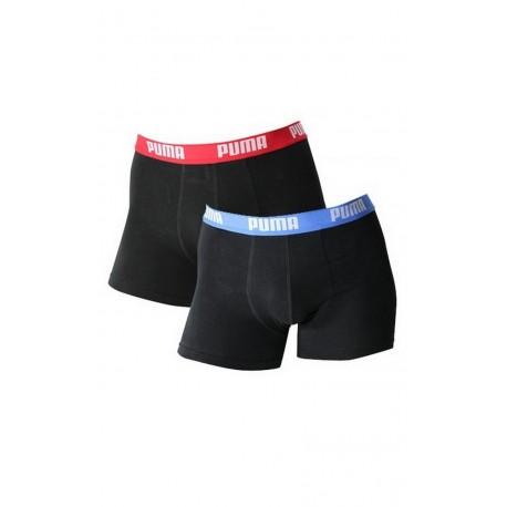 Pack 2 boxers ceinture couleur