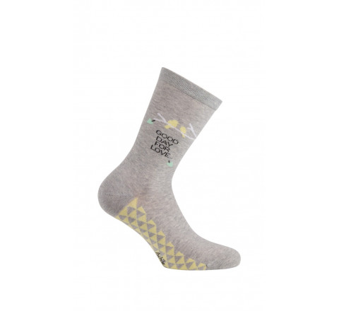 Mi-chaussettes Good Day en coton