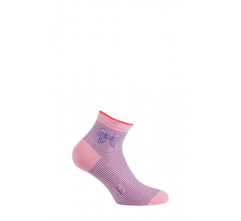 Chaussettes courtes motif Nœud en coton