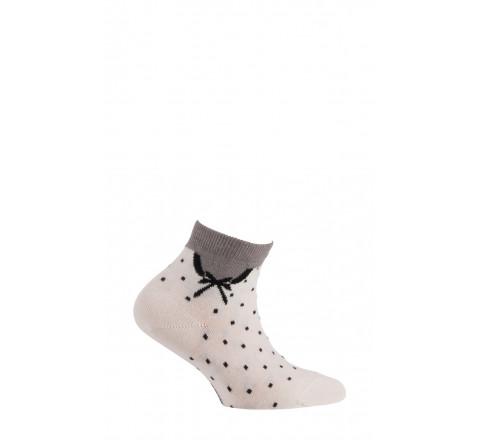 Chaussettes courtes modèle Claudine en coton