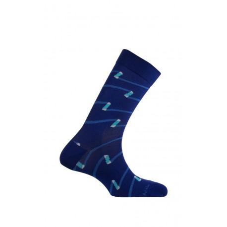 Mi-chaussettes modèle Ruban en fil d'écosse