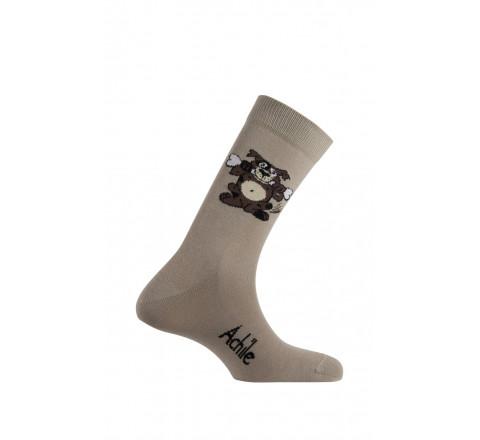 Mi-chaussettes Rex en coton