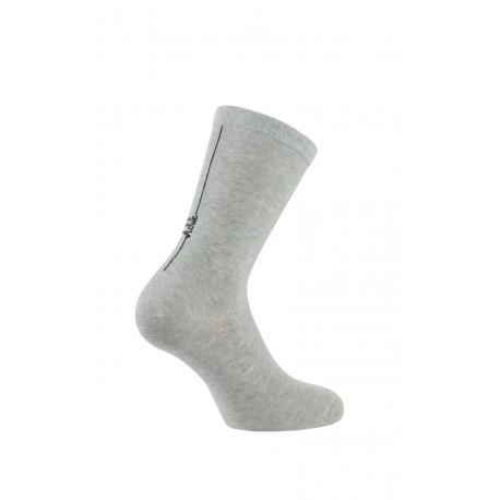 Mi-chaussettes modèle Honorine en coton