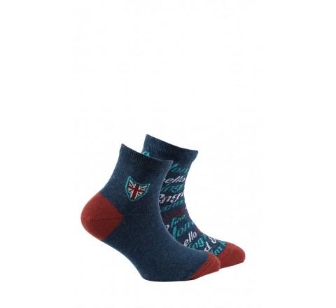 Lot de 2 paires de chaussettes tiges courtes fantaisies