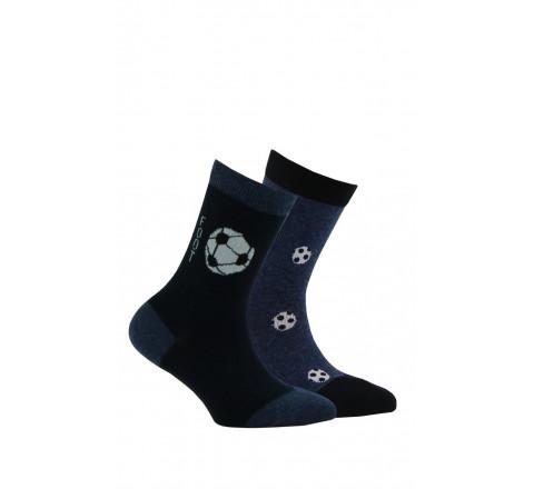 Lot de 2 paires de chaussettes foot ou rugby