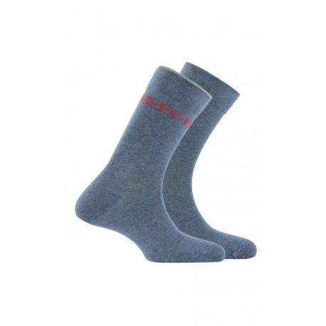 Lot de 2 paires de mi-chaussettes anti-odeur