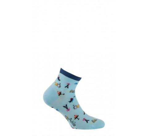 Socquettes modèle Jolie Môme en coton
