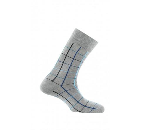 Mi-chaussettes fantaisies fabriquées en France en coton