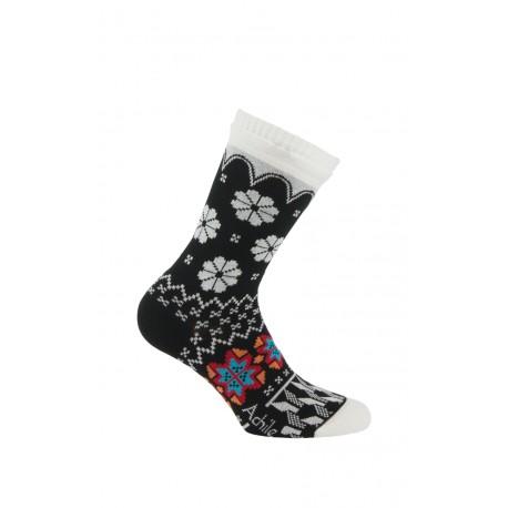 Mi-chaussettes Week-end sur les pistes en coton