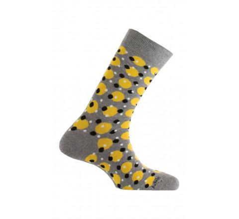 Mi-chaussettes modèle Sheffield en coton