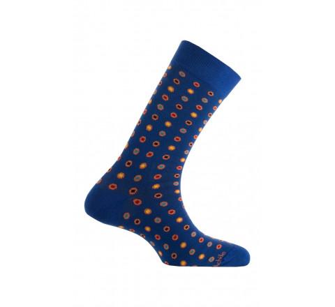 Mi-chaussettes modèle Oxford en coton