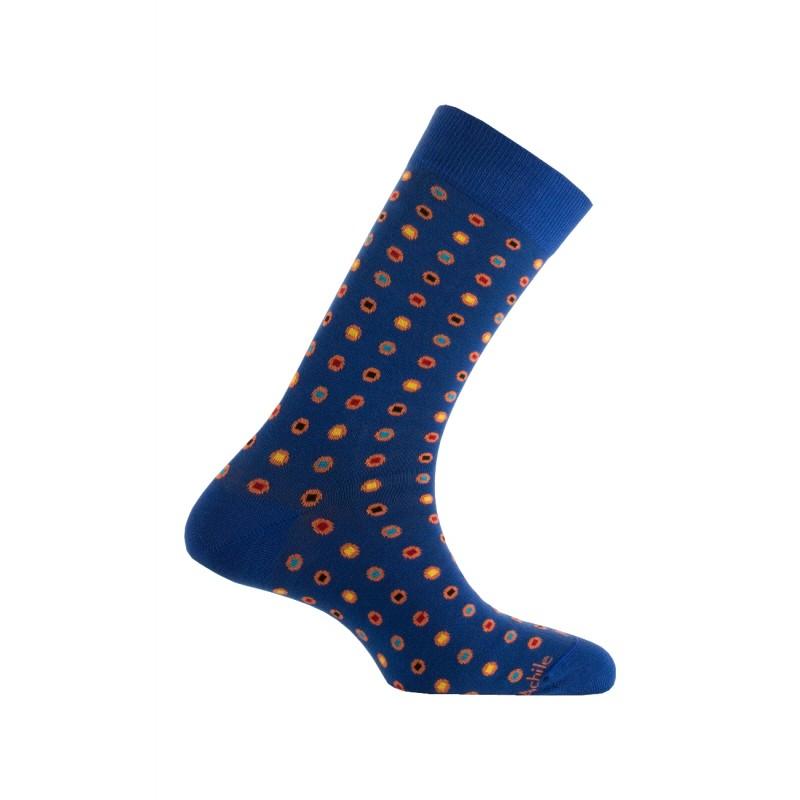6eada986df9a5 Achile Homme : Mi-chaussettes modèle Oxford en coton