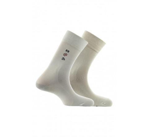 Pack de 2 paires de chaussettes en fil d'écosse mélangé