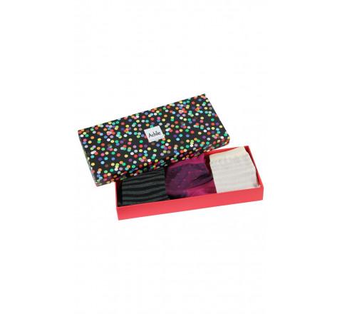 Coffret cadeau Femme 3 paires de chaussettes Cosy Lingerie