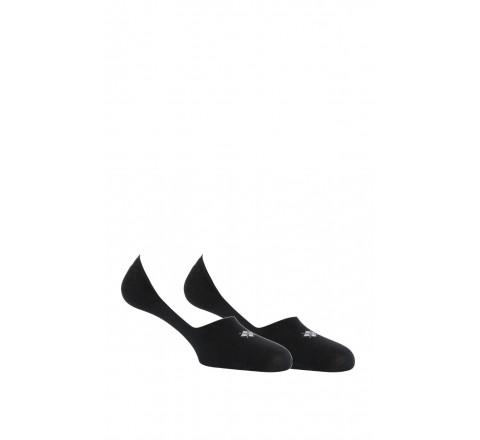 Pack de 2 paires de socquettes ultra-invisibles en coton