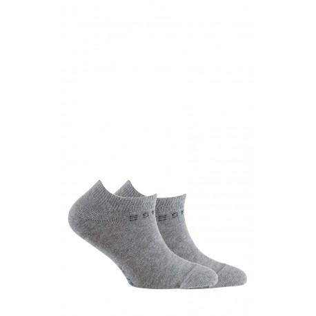 Lot de 2 paires de chaussettes invisibles en coton