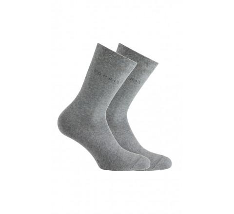 Lot de 2 paires de chaussettes à bord non comprimant