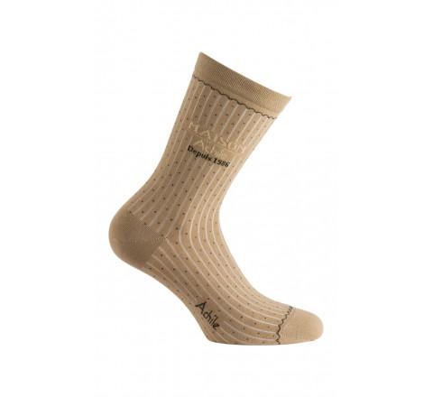Mi-chaussettes modèle Maison Achile en coton