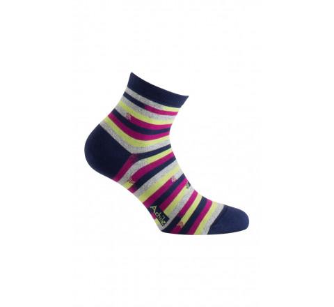 Socquettes modèle Pinceaux en coton