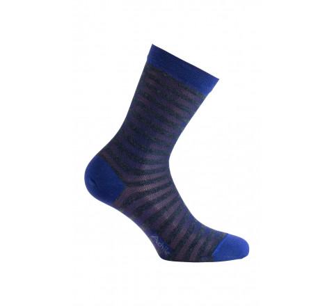 Mi-chaussettes modèle Sweety en fil d'écosse et viscose angora