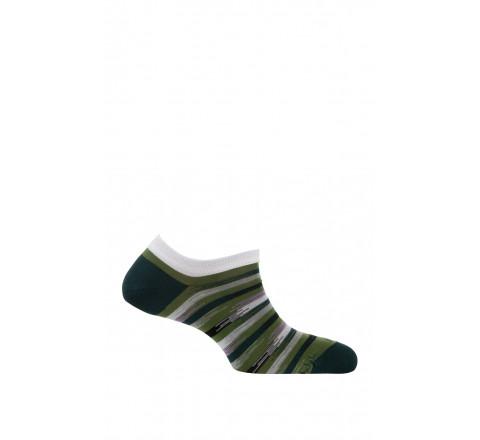 Chaussettes invisibles modèle Varadero en fil d'écosse