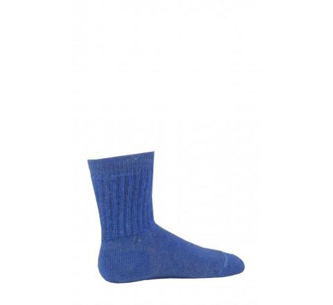 Chaussettes à côtes bord non comprimant