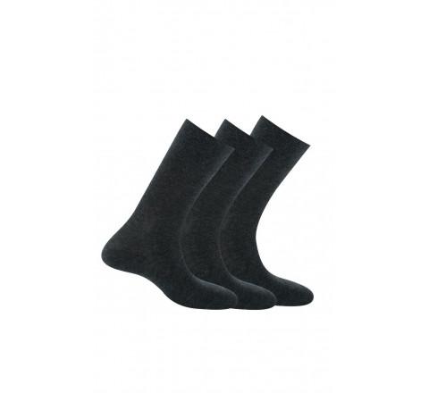 Chaussettes coton vendues par 3