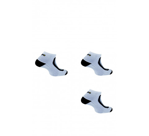 Pack de 3 paires de socquettes Run-Lighty