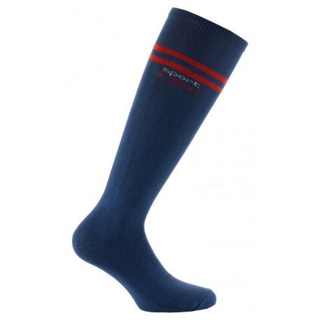Chaussettes hautes Sport en coton
