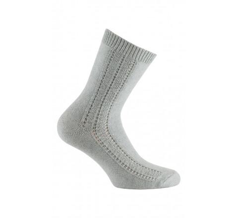 Chaussettes baguettes fantaisies en coton