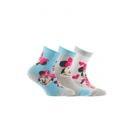 Lot de 3 paires de chaussettes Minnie