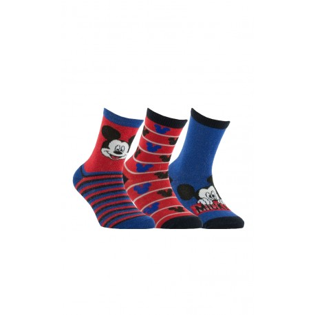 Lot de 3 paires de chaussettes Mickey
