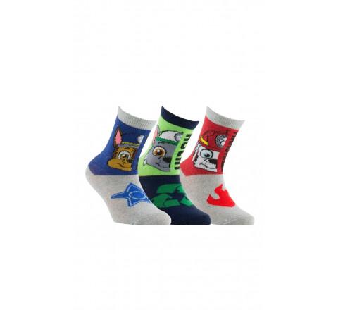Lot de 3 paires de chaussettes Pat'Patrouille