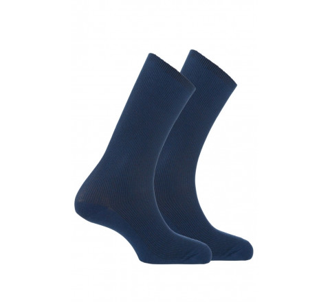 Pack chaussettes non comprimantes vendues en lot de 2 paires