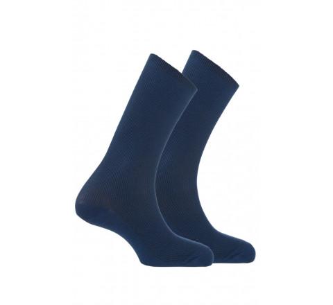 Pack chaussettes non comprimantes vendues en lot de 2 paires