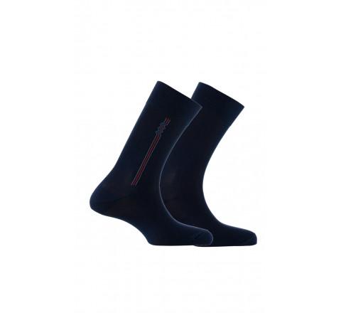 Pack de 2 paires de chaussettes en coton