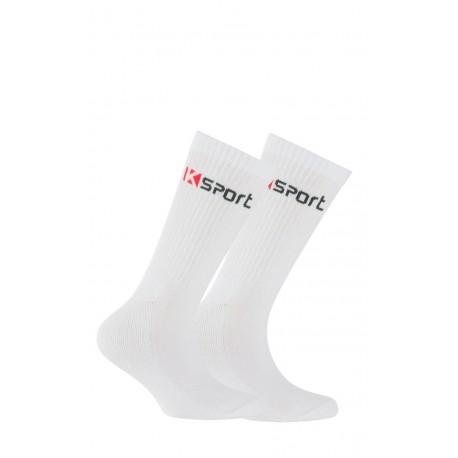 Pack de 2 paires de chaussettes k-sport